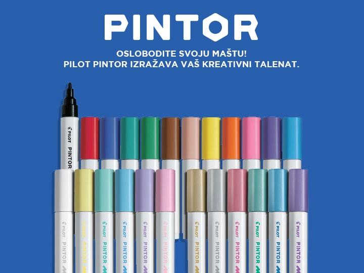 Pilot Pintor izražava vaš kreativni talenat