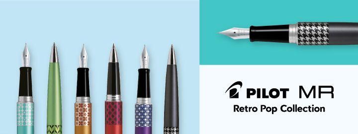 Fountain pen - Pilot MR Retro Pop Collection