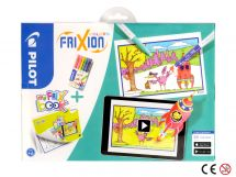 FriXion Colors - Set My FriX Book x 6 - Sortno boja - Srednji Vrh