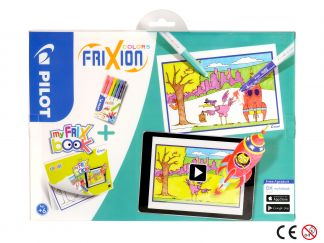 FriXion Colors - Set My FriX Book x 6 - Sortno boja - Srednji Vrh