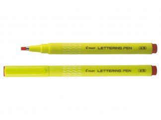 Lettering Pen 30 - Flomaster za crtanje - fineliner - Crvena boja - Široki Vrh