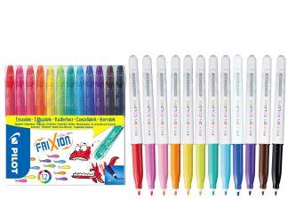 FriXion Colors - Set od 12 - Šareno - Srednji Vrh